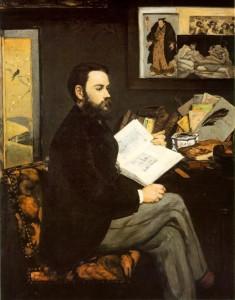 זולא בציורו של אדוארד מאנה 1868